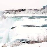 Niagara Falls, New York. Frozen Stock Photos