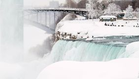 Niagara Falls, New York. Frozen Stock Image