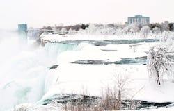 Niagara Falls, New York. Frozen Royalty Free Stock Photos