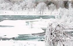 Niagara Falls, New York. Frozen Stock Images