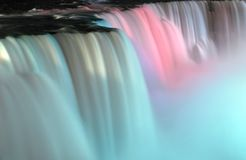 Niagara Falls at night Stock Photography