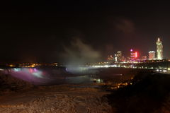 Niagara Falls Nights Stock Photos