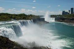 Niagara Falls, Nueva York, los E Foto de archivo libre de regalías