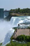 Niagara Falls, NY, overlook Royalty Free Stock Image