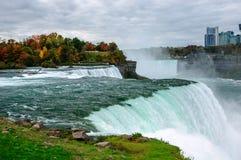 Niagara Falls NY, USA Fotografering för Bildbyråer
