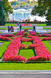 Niagara Falls och drottning Victoria Park i Kanada Royaltyfria Bilder