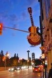 Berömdt område för Clifton kullgata på Niagara Falls, Kanada Royaltyfri Bild