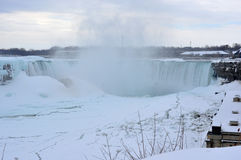 Niagara Falls, Ontario, Canadá - 9 de marzo de 2015 Fotografía de archivo
