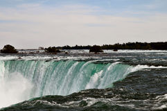 Niagara Falls ontario canada. Image of the horseshoe falls from the canadian side Stock Photography