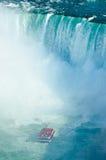 Niagara falls ontario canada horse shoe falls with hornblower Stock Photography
