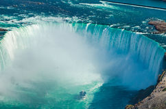 Niagara falls ontario canada horse shoe falls Royalty Free Stock Images