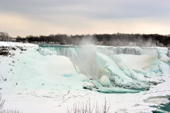 Niagara Falls On Ice - March 9, 2015 Royalty Free Stock Photography