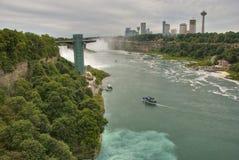 Niagara Falls Ontario, Kanada Arkivbilder