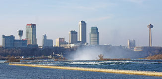 Niagara Falls, Ontario skyline Royalty Free Stock Photos