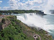 Niagara Falls Overview Royalty Free Stock Photo