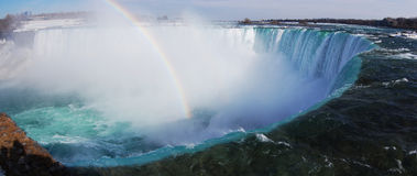 Niagara Falls panorama Royalty Free Stock Photo