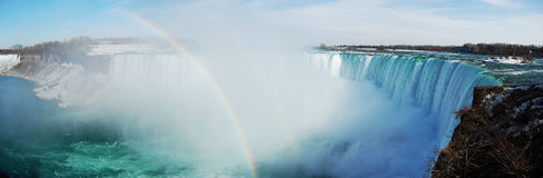 Niagara Falls panorama, Canada Royalty Free Stock Photos