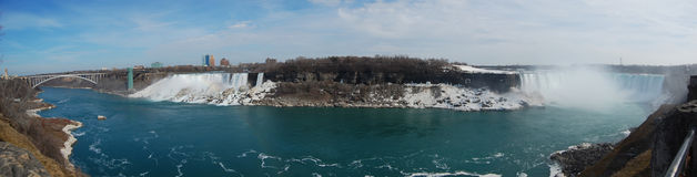 Niagara Falls panorama Stock Photography