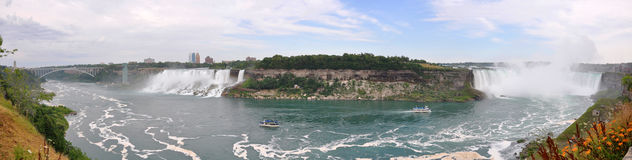 Niagara Falls panorama Stock Photo