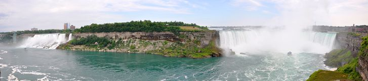 Niagara Falls panorama Stock Photos