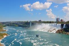 Niagara Falls Panorama Royalty Free Stock Photos