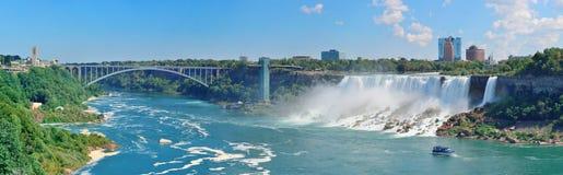 Niagara Falls Panorama Royalty Free Stock Photo
