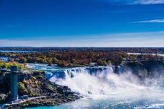 Niagara Falls panorama Royalty Free Stock Images