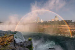 Niagara Falls rainbow Stock Photos