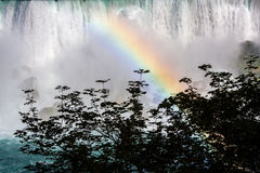 Niagara Falls and Rainbow Royalty Free Stock Photos