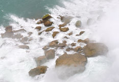 Niagara Falls rocks Royalty Free Stock Images
