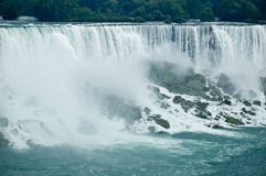 Niagara Falls and rocks Royalty Free Stock Images
