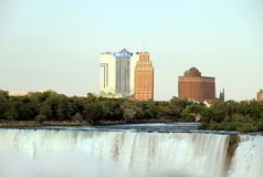 Niagara Falls and Seneca Casino Stock Photography