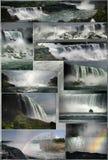 Niagara Falls. Several views of Niagara Falls, from the american and the canadian sides Royalty Free Stock Photography