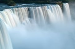 Niagara falls slow flow Royalty Free Stock Photography