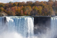 Niagara Falls Spray Autumn View Buffalo America Royalty Free Stock Image