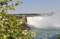 Niagara Falls in spring Royalty Free Stock Photography
