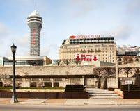Niagara Falls stad Arkivfoton