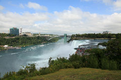 Niagara Falls State Park. Rainbow Bridge Stock Photography
