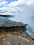 Niagara Falls State Park. Up close Stock Photos