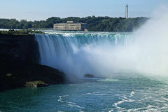 Niagara Falls State Park. View from the American side Royalty Free Stock Image
