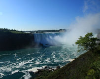 Niagara Falls State Park. View from the Canadian side Stock Images