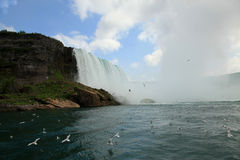 Niagara Falls State Park. View from the waters Stock Photo