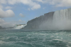 Niagara Falls State Park. View from the waters Stock Photos