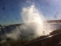 Niagara Falls Steam Shower Royalty Free Stock Image