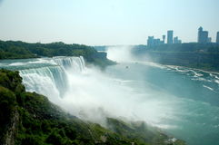 Niagara Falls in Summer Stock Image