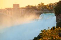 Niagara Falls sunrise Royalty Free Stock Image