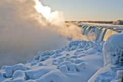 Niagara Falls - Sunrise  Royalty Free Stock Photos