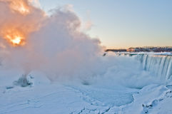 Niagara Falls - Sunrise  Royalty Free Stock Photography