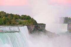 Niagara Falls sunrise Stock Images