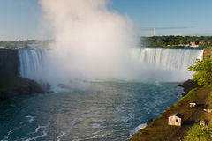 Niagara Falls at sunrise, Ontario, Canada Stock Photography